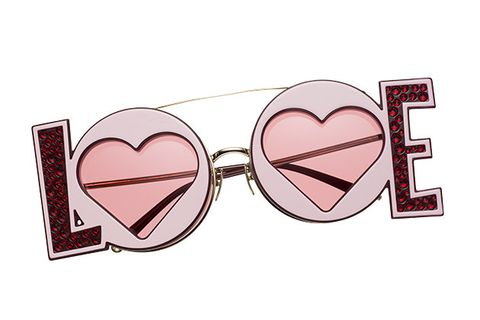 Eyewear, Glasses, Sunglasses, Pink, Heart, Personal protective equipment, Text, Organ, Vision care, Goggles,