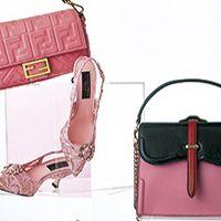 Bag, Handbag, Pink, Fashion accessory, Shoulder bag, Material property, Luggage and bags, Leather, Magenta,