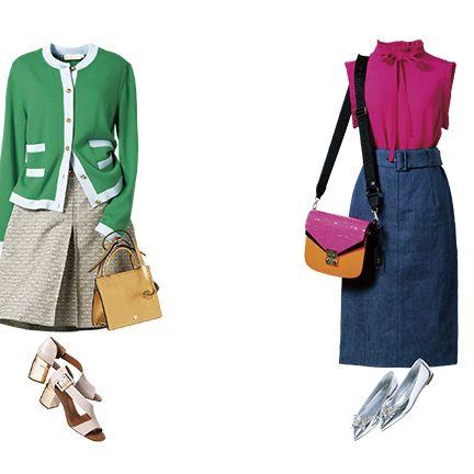 Clothing, Green, Footwear, Fashion, Pink, Outerwear, Fashion illustration, Dress, Coat, Textile,