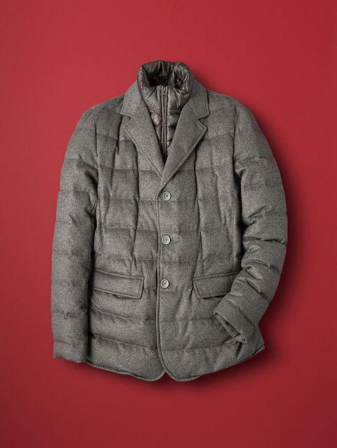 Clothing, Outerwear, Jacket, Sleeve, Collar, Top, Blazer, Pocket, Beige, Woolen,