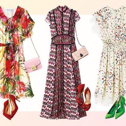 Clothing, Day dress, Dress, Fashion design, Fashion, Robe, Sleeve, Pattern, Costume design, Textile,