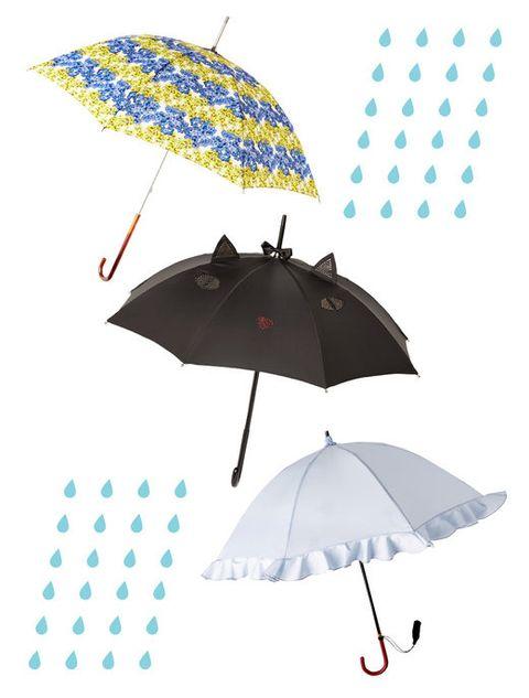 Blue, Umbrella, Product, Photograph, Line, Electric blue, Azure, Black, Cobalt blue, Illustration,