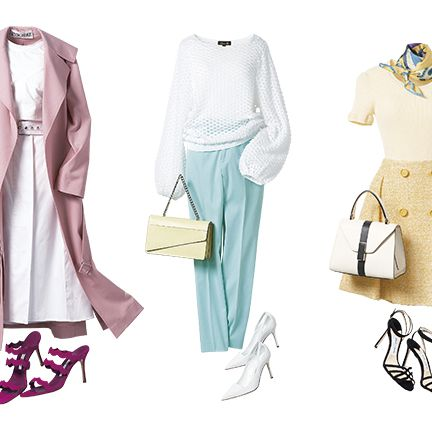 Clothing, White, Outerwear, Fashion, Pink, Footwear, Coat, Overcoat, Fashion illustration, Trench coat,