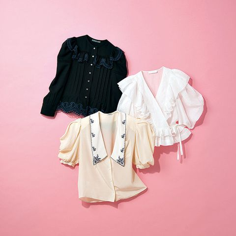 Clothing, White, Pink, Outerwear, Sleeve, Clothes hanger, Fashion, Blouse, Textile, Collar,