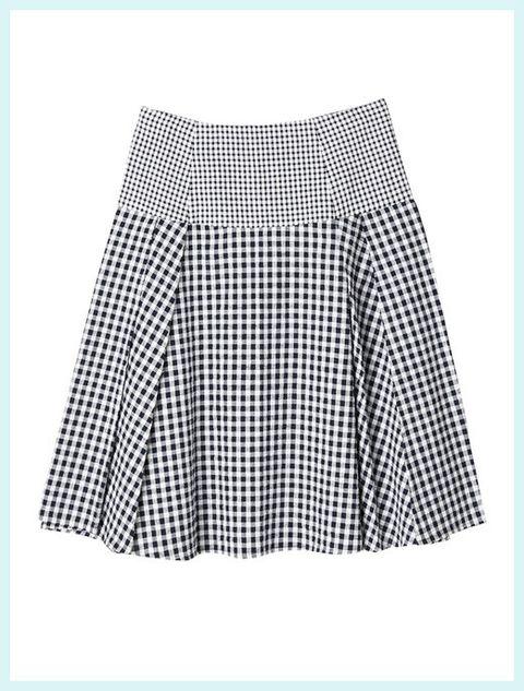 Blue, Textile, Pattern, White, Grey, Design, Pattern, Skort,