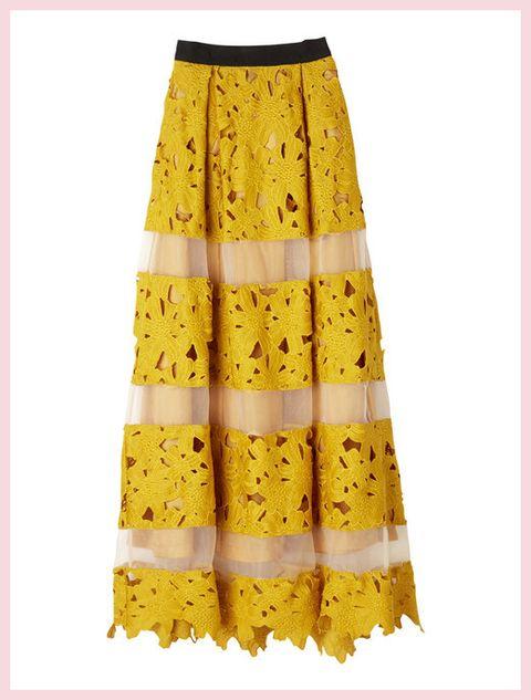 Yellow, Textile, Pattern, Orange, One-piece garment, Day dress, Beige, Rectangle, Design, Pattern,