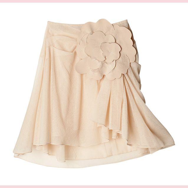 Beige, Peach, Tan, Embellishment, Ivory, Costume design, Day dress, Ruffle, Costume, One-piece garment,