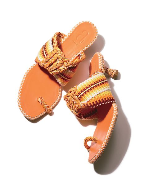 Footwear, Orange, Tan, Sandal, Product, Brown, Shoe, Beige, Fashion accessory, Peach,