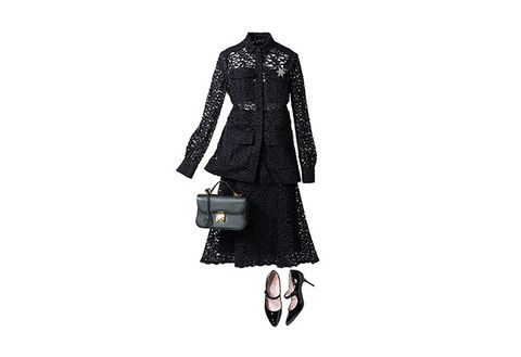 Clothing, Coat, Trench coat, Fashion, Outerwear, Dress, Footwear, Gothic fashion, Sleeve, Leather,