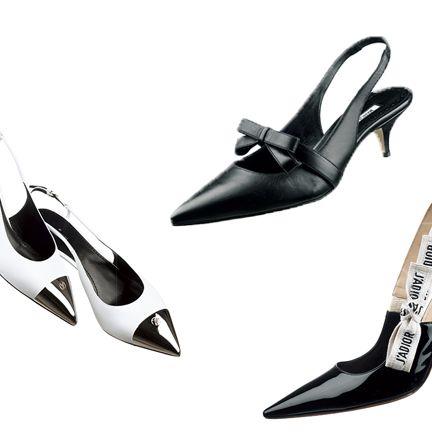 Footwear, High heels, Slingback, Shoe, Basic pump, Leg, Court shoe, Dancing shoe, Fashion accessory,