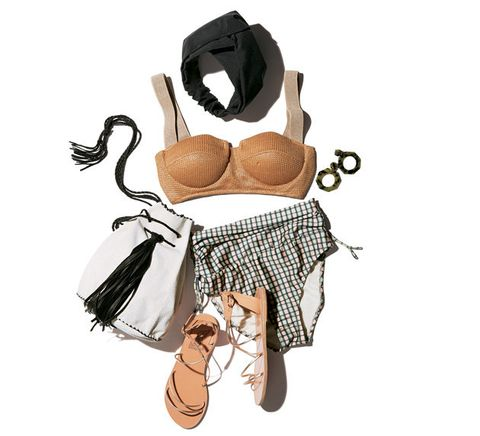 Clothing, Brassiere, Lingerie, Footwear, Lingerie top, Undergarment, Crop top, Shoe, Fashion accessory, Illustration,