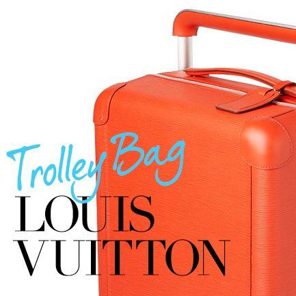 ルイ・ヴィトンのトロリーバッグ