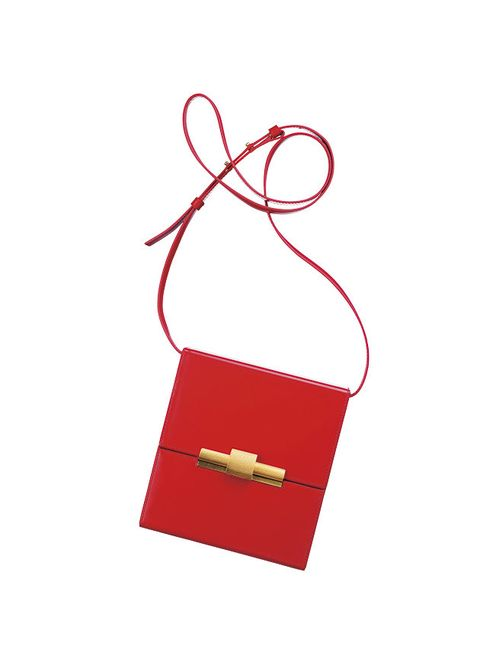 Red, Fashion accessory, Rectangle,