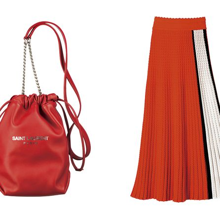 Product, Red, White, Bag, Style, Orange, Fashion accessory, Shoulder bag, Luggage and bags, Carmine,