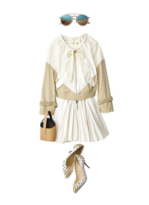 Clothing, White, Costume design, Fashion, Sleeve, Beige, Outerwear, Costume, Victorian fashion, Dress,