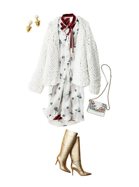 White, Clothing, Fashion illustration, Illustration, Outerwear, Dress, Footwear, Fashion, Design, Fashion design,