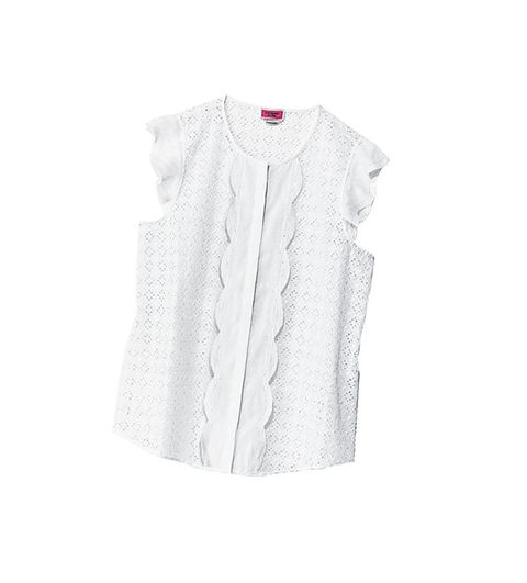 Clothing, White, Outerwear, Sleeve, Blouse, Top, Neck, Button, Collar, Cardigan,
