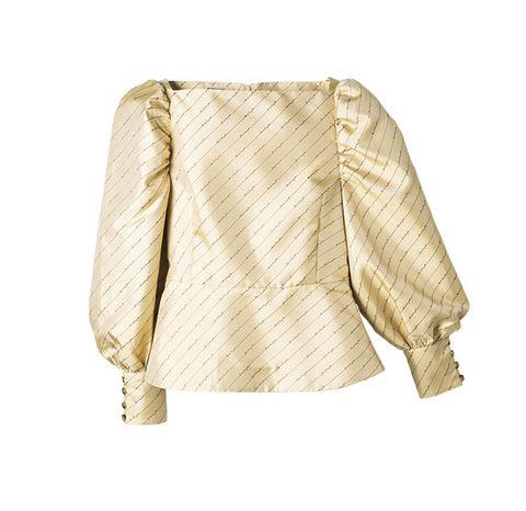Clothing, Outerwear, Beige, Sleeve, Jacket, Blouse, Top, Blazer, Collar, Shirt,