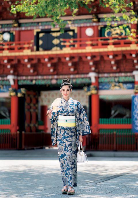 Shrine, Temple, Street fashion, Temple, Kimono, Travel, Photography, Costume, Place of worship, Vacation,