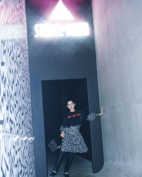 Light, Fashion, Snapshot, Wall, Architecture, Photography, Dress, Room, Textile, Door,