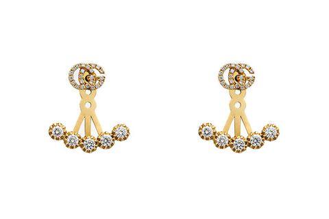 Earrings, Jewellery, Fashion accessory, Body jewelry, Diamond, Gold, Gemstone, Metal, Ear,