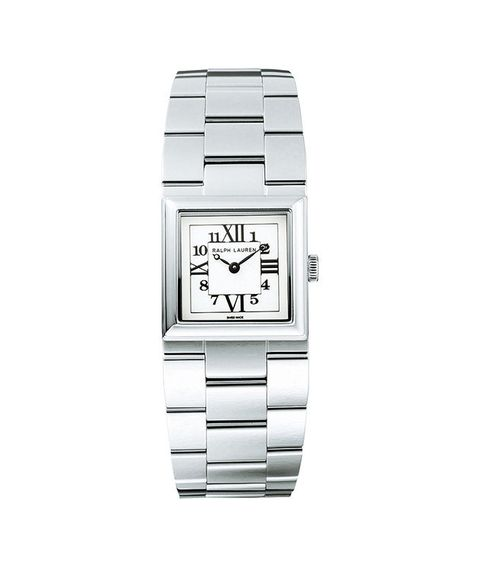 Analog watch, Watch, Watch accessory, Fashion accessory, Jewellery, Product, Silver, Rectangle, Steel, Metal,