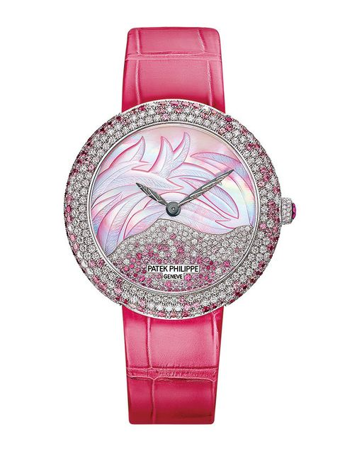Magenta, Pink, Violet, Metal, Natural material, Silver, Watch accessory, Steel, Mineral, Strap,