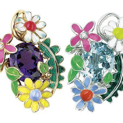 Fashion accessory, Jewellery, Brooch, Body jewelry, Illustration, Gemstone, Plant, Clip art, Flower,