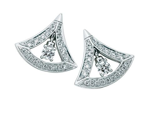 Jewellery, Earrings, Fashion accessory, Diamond, Platinum, Silver, Body jewelry, Metal, Ear,