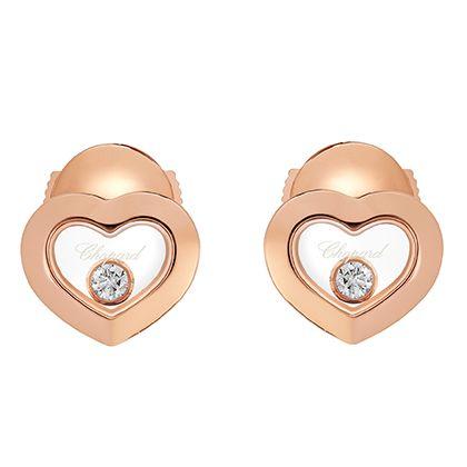 Earrings, Jewellery, Fashion accessory, Ear, Heart, Metal, Ring,