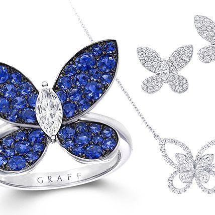 Fashion accessory, Jewellery, Butterfly, Diamond, Body jewelry, Pendant, Sapphire, Gemstone, Necklace, Chain,