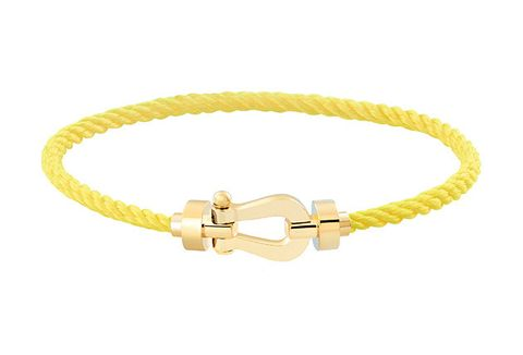Bracelet, Fashion accessory, Yellow, Jewellery, Bangle, Metal,