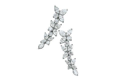Jewellery, Body jewelry, Fashion accessory, Earrings, Diamond, Ear, Metal,