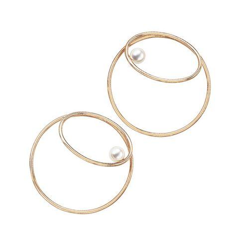 Jewellery, Fashion accessory, Circle, Body jewelry, Metal, Bangle, Oval,