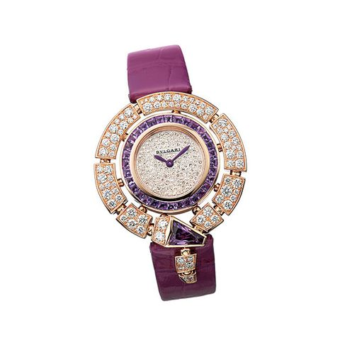 Analog watch, Watch, Violet, Strap, Fashion accessory, Watch accessory, Purple, Jewellery, Lilac, Material property,