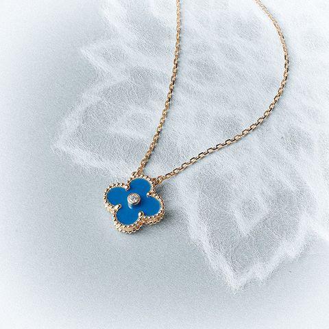 Jewellery, Fashion accessory, Body jewelry, Pendant, Necklace, Chain, Cobalt blue, Locket, Gemstone, Sapphire,