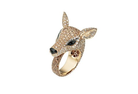 Head, Fashion accessory, Jewellery, Ear, Fawn, Metal,