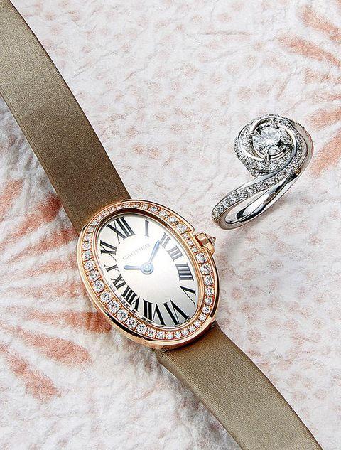 Brown, Analog watch, Watch, Tan, Metal, Beige, Everyday carry, Clock, Circle, Silver,