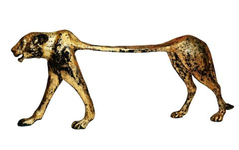 Canidae, Dog, Carnivore, Animal figure, Sporting Group, Bronze sculpture, Ancient dog breeds, Pointer, Bronze,