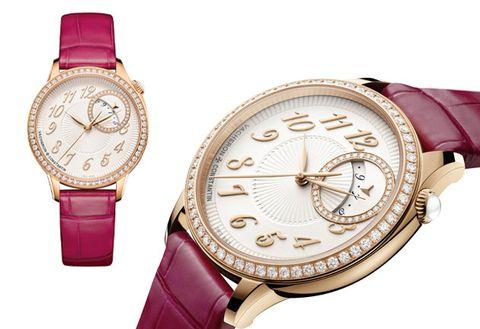 Watch, Analog watch, Strap, Watch accessory, Fashion accessory, Product, Jewellery, Pink, Magenta, Brand,