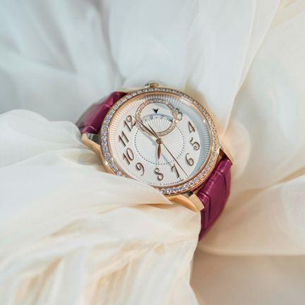 Photograph, Fashion accessory, Pink, Jewellery, Wrist, Watch, Hand, Magenta, Dress,