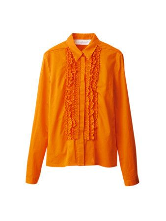 Product, Brown, Yellow, Collar, Sleeve, Orange, Textile, Outerwear, Amber, Fashion,