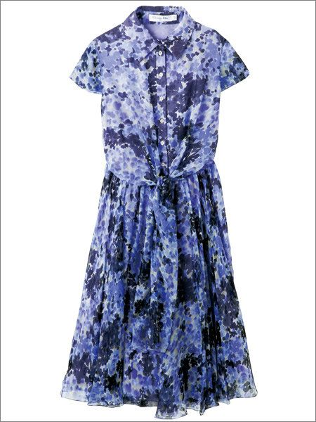 Blue, Sleeve, Dress, Textile, Pattern, One-piece garment, Formal wear, Style, Electric blue, Collar,