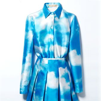 Blue, Product, Collar, Sleeve, Textile, Pattern, Aqua, Electric blue, Teal, Turquoise,