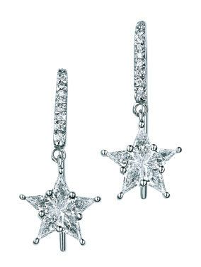 White, Metal, Fashion accessory, Body jewelry, Silver, Earrings, Pendant, Natural material, Platinum, Chemical substance,