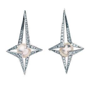White, Metal, Body jewelry, Symmetry, Silver, Pendant, Earrings, Natural material, Platinum,