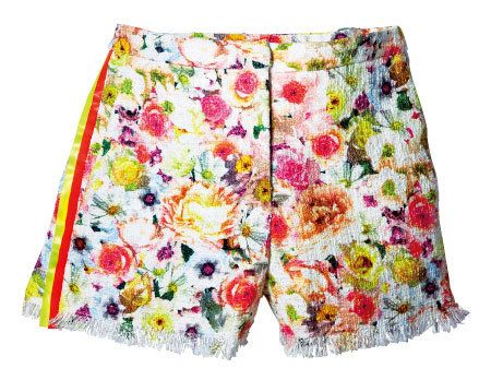 Yellow, Textile, Flower, Pink, Magenta, Pattern, Linens, Creative arts, Floral design, Home accessories,