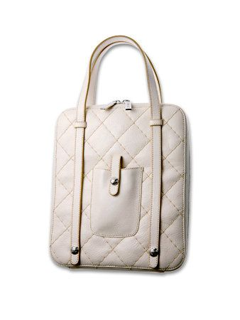 Product, Bag, White, Style, Fashion accessory, Luggage and bags, Shoulder bag, Leather, Grey, Handbag,