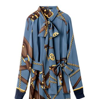 Blue, Yellow, Collar, Sleeve, Textile, Style, Pattern, Fashion, Electric blue, Cobalt blue,