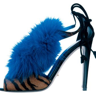 Blue, Musical instrument accessory, Electric blue, Costume accessory, Azure, Cobalt blue, Aqua, Fur, Teal, Basic pump,
